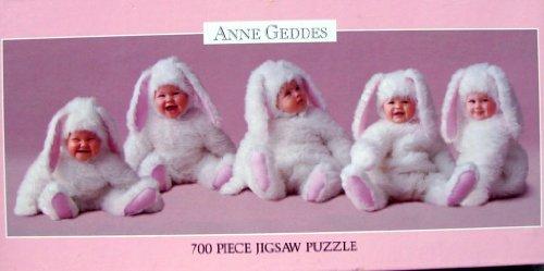 Anne Geddes 700 Piece Jigsaw Puzzle - Baby Bunnies