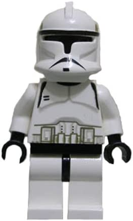 LEGO Star Wars Classic Ep. 2 Clone Trooper Minifigure from Set 7163 and 4482