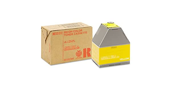Amazon.com: Ricoh 888341 10000pages Yellow laser toner ...