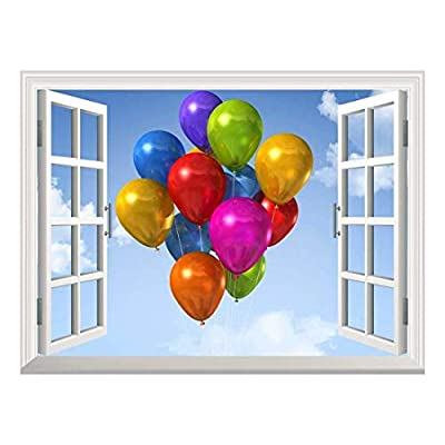 Removable Wall Sticker Wall Mural Coloreful Air Balloons...