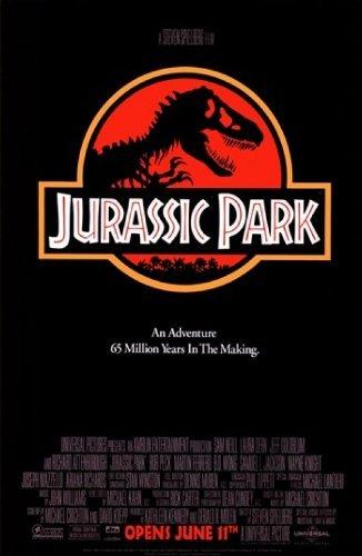 Poster Jurassic Park Movie 36x24 inch Master Print
