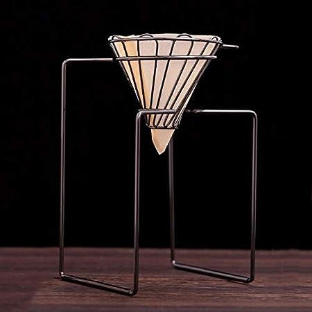 Filtros de Café Cafetera Dripper Geometric, reutilizable Pour Over Café Filtro Stand, permanente cesta de filtro: Amazon.es: Hogar