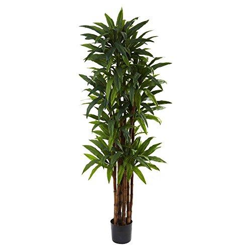 Nearly Natural 7 ft. Dracaena Silk Tree ()