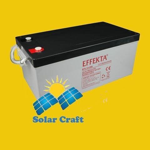 Solarmodul Blei Batterie Akku elektromoteur Konverter Volt 260Ah 12V