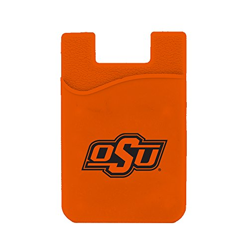 Guard Dog Card Keeper/Card Holder Silicone Phone Wallet (Oklahoma State Cowboys)