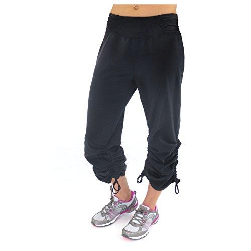 Alex + Abby Women's Plus-Size Motion Boot Cut Pant XXX-Large Black