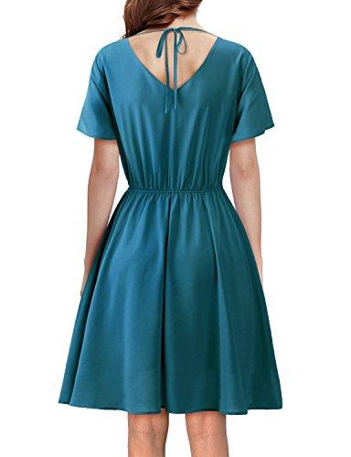 formal chiffon dress sewing pattern - 4