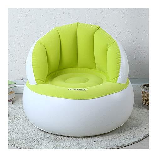 RJJX Home De Flocado Hinchable Ninos Sofa Plegable Ninos Portable De La Silla Perezoso Creativo del Sofa Muebles Infantiles For El Dormitorio De La Sala (Color :