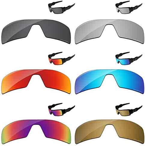 08e14264624ec PapaViva Polarized Lenses Replacement for Oakley Oil Rig 6 Pieces Packed