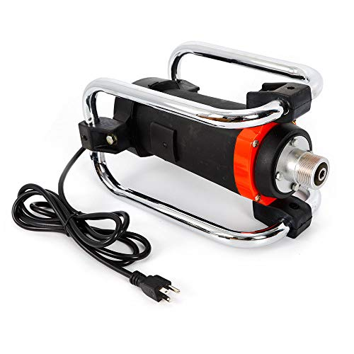 1100W 16000RPM Electric Concrete Vibrator&14-3/4 Ft Poker Air Bubble Remover ()