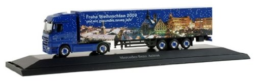 294539 - Herpa eXtra - Mercedes Benz Actros LH Koffer-Sattelzug
