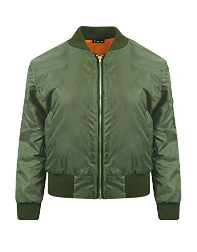Forever Sleeves Flight Bomber Jacket product image