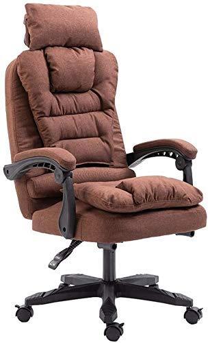 DFKDGL Silla giratoria para computadora Silla de Oficina Acolchada Funda de Tela Desmontable 155;Sillon reclinable Adecuado para sillas de Escritorio de Oficina en el hogar (Col para ofi