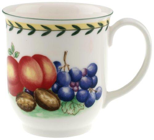 Villeroy & Boch French Garden Fleurence 14-Ounce Mug (Villeroy Mug Boch Crystal &)