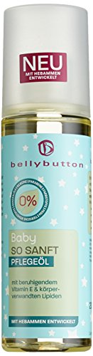 Bellybutton Baby so sanft Pflegeöl 200 ml, 3er Pack (3 x 200 ml)