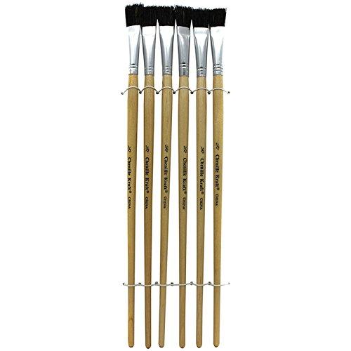 Chenille Kraft CK-5936 Easel Brushes with Black Bristle Set, 2.99