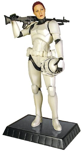 Gentle Giant Studios Star Wars: Female Stormtrooper Statue (Wars Star Clone Wars Kit Fisto)