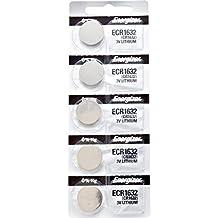 5 x Energizer 1632 Watch Batteries, 3V Lithium CR1632
