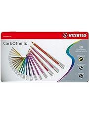 مجموعة أقلام تلوين كاربوثيلو طباشير بألوان الباستيل من ستابيلو 4.4 مم 1-Pack
