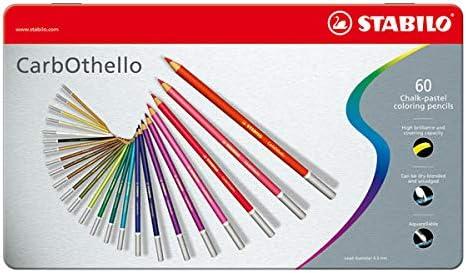 Carb-Othello Pastel Pencil 60 Color Set