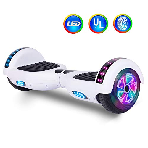 Felimoda 6.5' Hoverboard for Kids and Adult Two-Wheel Self-Balancing Scooter- UL2272 Certificated,...