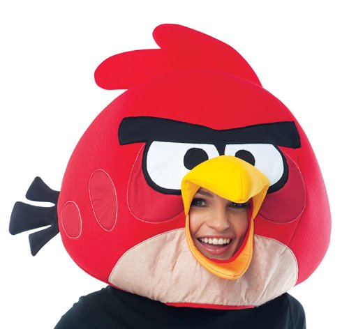 Paper Magic Group Angry Birds Red Bird Mask (Paper Magic Group Costumes)