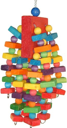 Super Bird Creations 20 by 7-Inch Beakasarus Bird Toy, X-Large