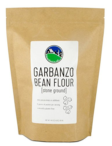 Garbanzo Bean Flour (Besan, Gram or Chickpea Flour) | No Additives | Non-Irradiated | Non-GMO | 3 - Garbanzo Flour Bean