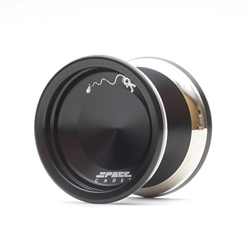 Space Cadet YoYo by YoYoFactory Color Black Limited Initial Release by YoYoFactory