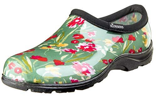 Sloggers 078233 5119Fcgn06 Wo'S, Fresh Cut Green Sz 6 Waterproof Comfort Shoe