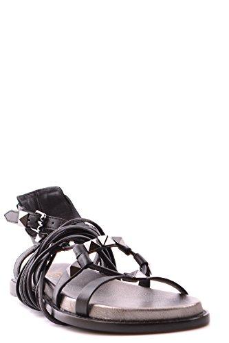 ASH FEMME MCBI027010O NOIR CUIR SANDALES