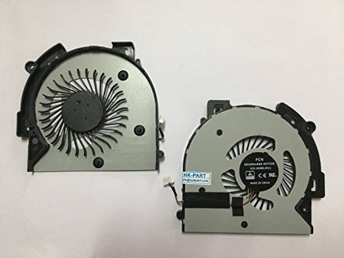 HK-part Replacement Fan for HP Envy X360 M6-AQ M6-AQ103DX M6-AQ005DX M6-AQ25DX M6-AQ003DX Cpu Cooling Fan P/N 856277-001 4-Pin