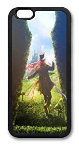 Alice in Wonderland 12 TPU Silicone Case Cover for iPhone 6 Plus 5.5 inch Black