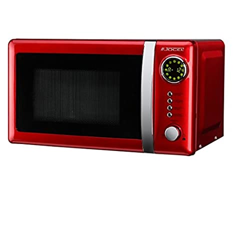 Jocel JMO001344 Microondas rojo, 700 W, 20 litros, Aluminio ...