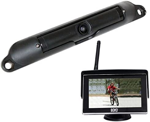Rear View Camera System >> Boyo Vtc424r Wi Fi High Resolution Rear View Camera System With 4 3 Inch Lcd Monitor Black
