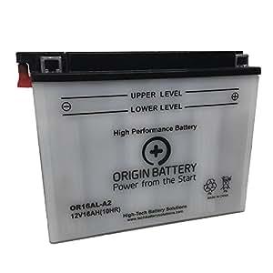 Origin CB16AL-A2 Battery, Replaces YB16AL-A2, 16AL-A2, XT16AL-A2