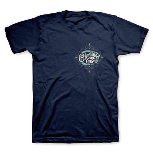 Amazing Grace Christian T-Shirt Navy