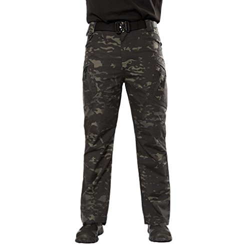 PASATO New!Men's Casual Tactical Military Army Combat Outdoors Work Trousers Cargo Pants(Camouflage, S) by PASATO (Image #7)