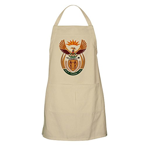 (CafePress South African Coat of Arms BBQ Apron Kitchen Apron with Pockets, Grilling Apron, Baking)