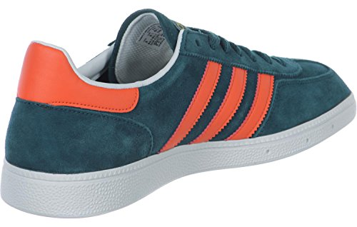 adidas Spezial, Sandalias con Plataforma para Hombre, Verde turquesa naranja