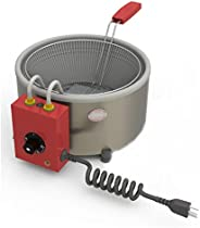 Progás, P29585, Tacho Fritadeira Elétrica Profissional Progas 3L em Aço Inox 127V