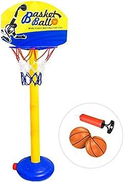 ForeverMagicToys Aro de Baloncesto para niños pequeños-Altura ...