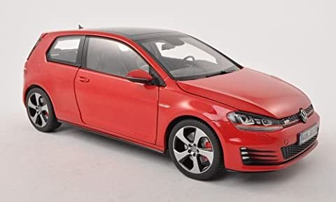 VW Golf VII GTI, red, Model Car, Ready-made, I-Norev 1:18