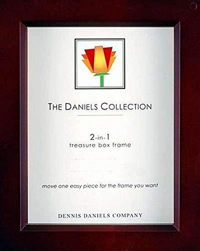 Dennis Daniels Wood Treasure Box Picture Frame, 8 x 10 Inches, Dark Walnut]()