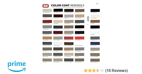 Amazon Sem Colorcoat Color Chart Automotive