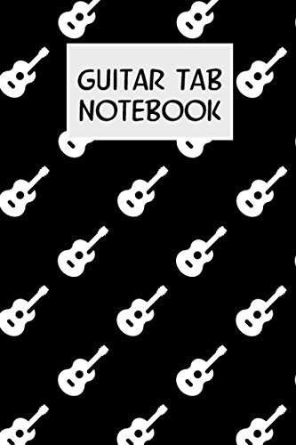 Guitar Tab Notebook: Blank 6x9 soft cover guitar tablature book with guitar tab paper