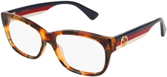 Gucci GG0278O-008 Estuches para anteojos, LA HABANA, 55.0 para Mujer: Amazon.es: Ropa y accesorios