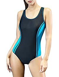 Women's One Piece Swimsuits Racing Training Sports...