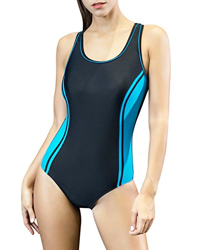 83092fc4861a Uhnice Women s One Piece Swimsuits Racing Training Sports Athletic Swimwear