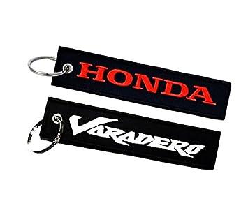 Honda Varadero llavero doble cara: Amazon.es: Coche y moto